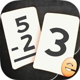 Sottrazione Flashcard Partita Giochi Per Bambini Nella Scuola Materna, 1 ° E 2 Schede Flash Di Apprendimento Di Grado