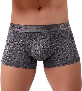 Men's Underwear Shear Slip Casual Men's Modern Men's Shorts in Waist Under Warming Sheer Cotton Comfortable Clothing Breat...