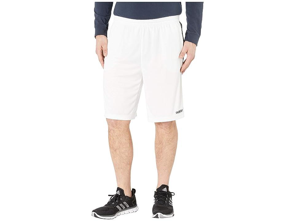 adidas - adidas - adidas Big Tall D2M 3-Stripe Shorts