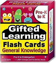 TestingMom.com Gifted Learning Flash Cards – General Knowledge Pre-K – Kindergarten – G&T Educational Practice: CogAT, OLSAT, Iowa, SCAT, WISC, ERB, WPPSI, AABL, Woodcock-Johnson, More