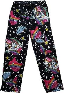 Top Drawer Men's Sleep Lounge Pants Unicorns Kitty Cat Heads Rainbows Butterflies Graphic