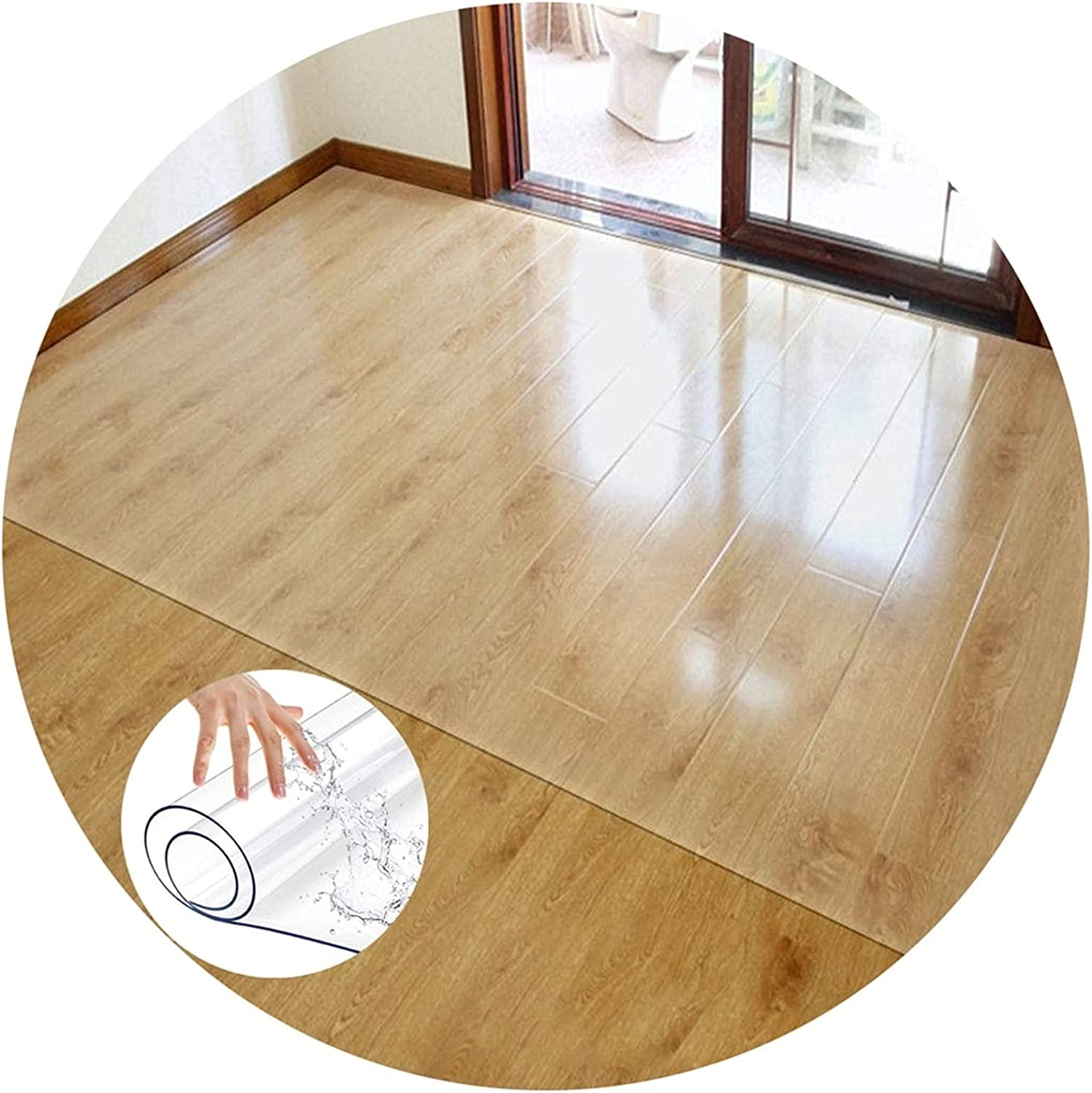 Latest item Clear Floor Mat New product type Scratch Resistant Anti Slip Plastic Chair