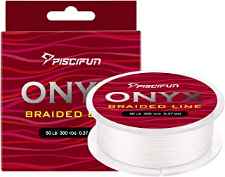 Piscifun Braided Fishing Line 6lb-150lb Superline Abrasion Resistant Braided Lines Super Strong High Performance PE Fishin...