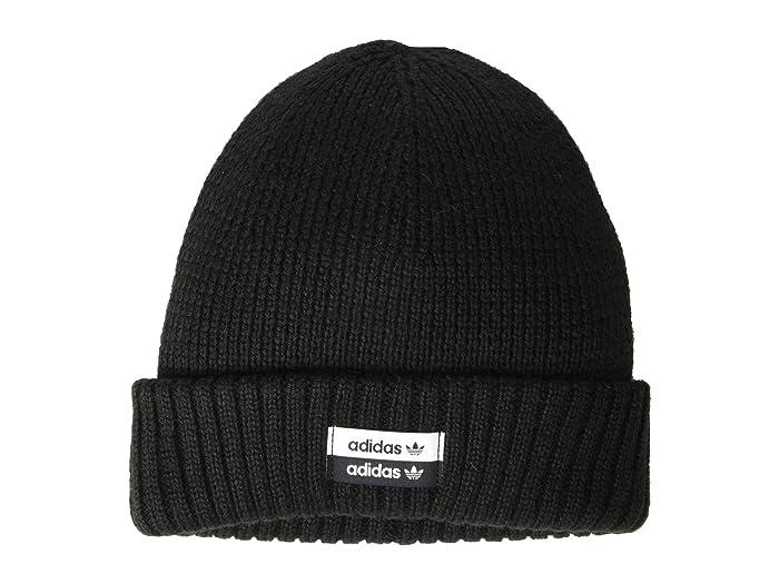 adidas Originals  Originals Utility II Beanie (Black/White) Caps