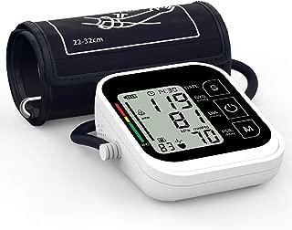 """Tensiómetros de Brazo Digital,Oudekay Eléctrico de Presión Arterial Medición Automática de la Presión Arterial y pulso de frecuencia cardíaca detección,2 usuarios (2 * 99)y 3.5"""" Pantalla LCD grande"""
