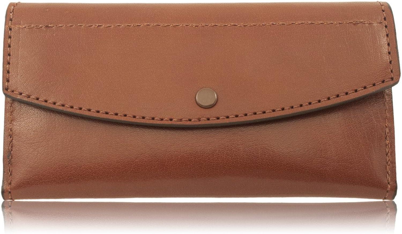 Genuine Handmade Brown Water Buffalo Leather Clutch Wallet