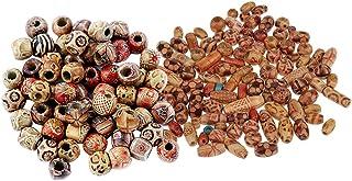 Pfirsich Holzperlen lose Perlen DIY Charme Handwerk für Schmuck machen