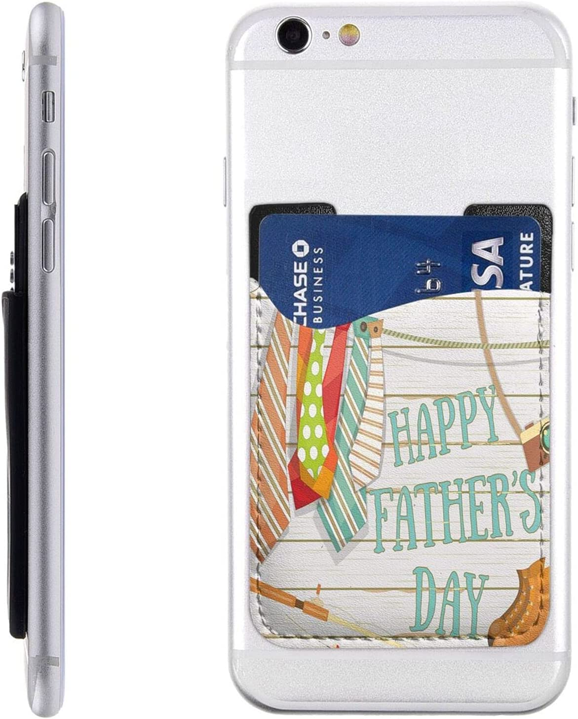 Happy Father's Day Phone Card Stick New Manufacturer direct delivery York Mall Cell On Wa Holder