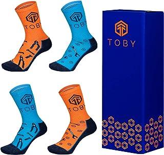 Generic Toby Apparel 4 | 8 Pairs Men's Work Socks Wear-resistant Comfortable Cotton