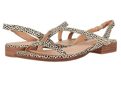 Madewell Heidi Bare Slingback Sandal in Spot Dot (Dried Flax Multi) Women