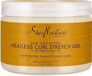 Shea Moisture Raw Butter Heatless Curl Stretch Gel for Unisex, 12 Ounce