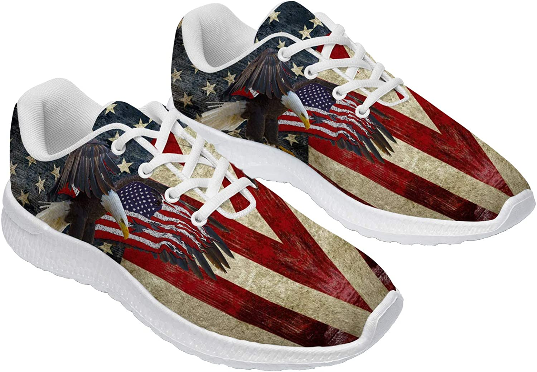 USA Flag Walking 秀逸 新発売 Shoes Womens Americ Mesh Mens Sneakers Athletic