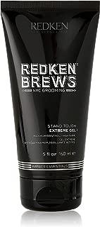 Redken Brews Extreme Gel For Men, High Hold, High Shine, 5.0 fl. oz
