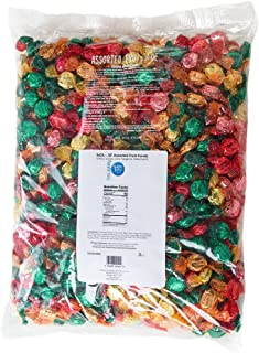 GoLightly Sugar Free Bulk Hard Candy   Cherry, Lime, Lemon, Tangerine, Watermelon   5 Pound Bag of Bulk Candy