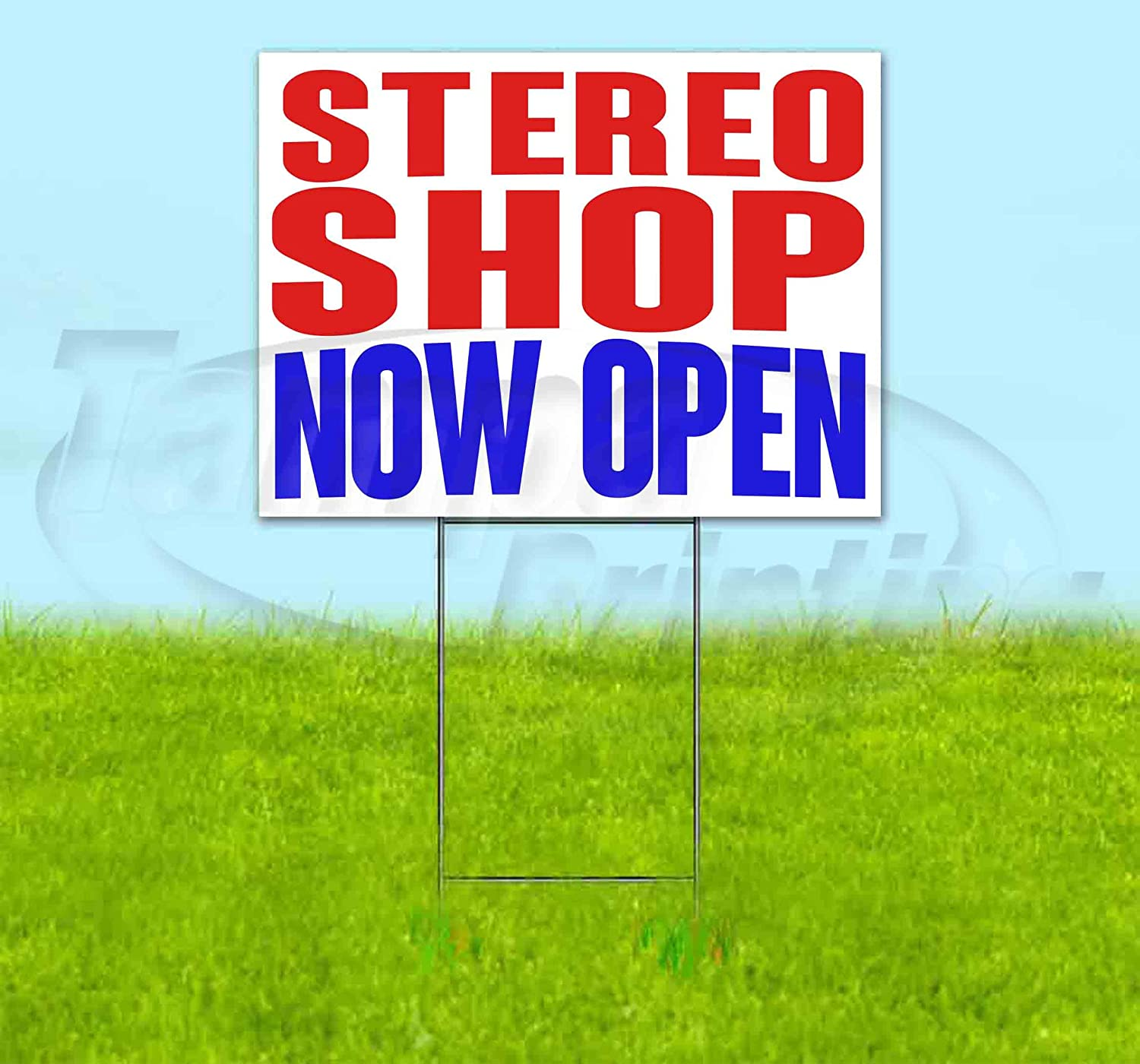 Stereo Shop Now Open 18