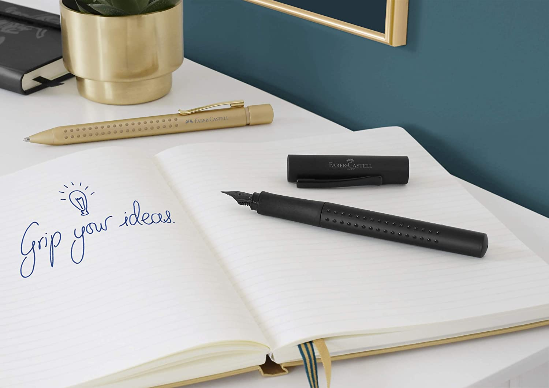 Faber-Castell Grip Edition B Fountain Pen All Black