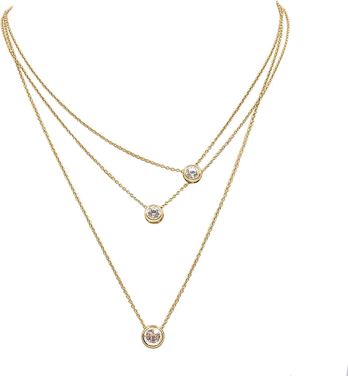Kinsley Armelle Goddess Collection - Trinity Necklace