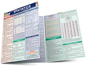 Statistics Laminate Reference Chart: Parameters, Variables, Intervals, Proportions (Quickstudy: Academic ) Book PDF