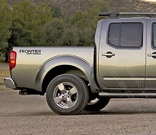 Jis Decals Generic Nissan Frontier Off Road (14 INCH Wide) Black