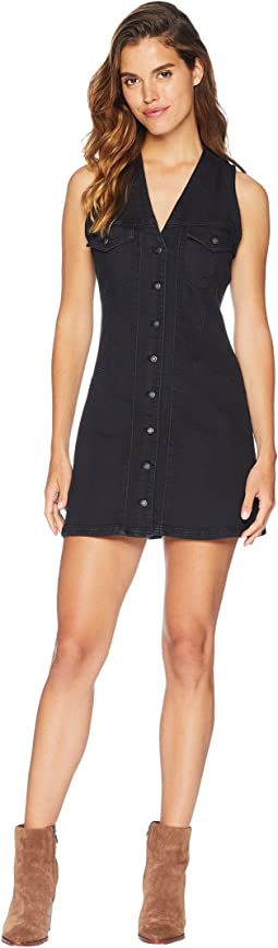 Wandering Star Denim Mini Dress