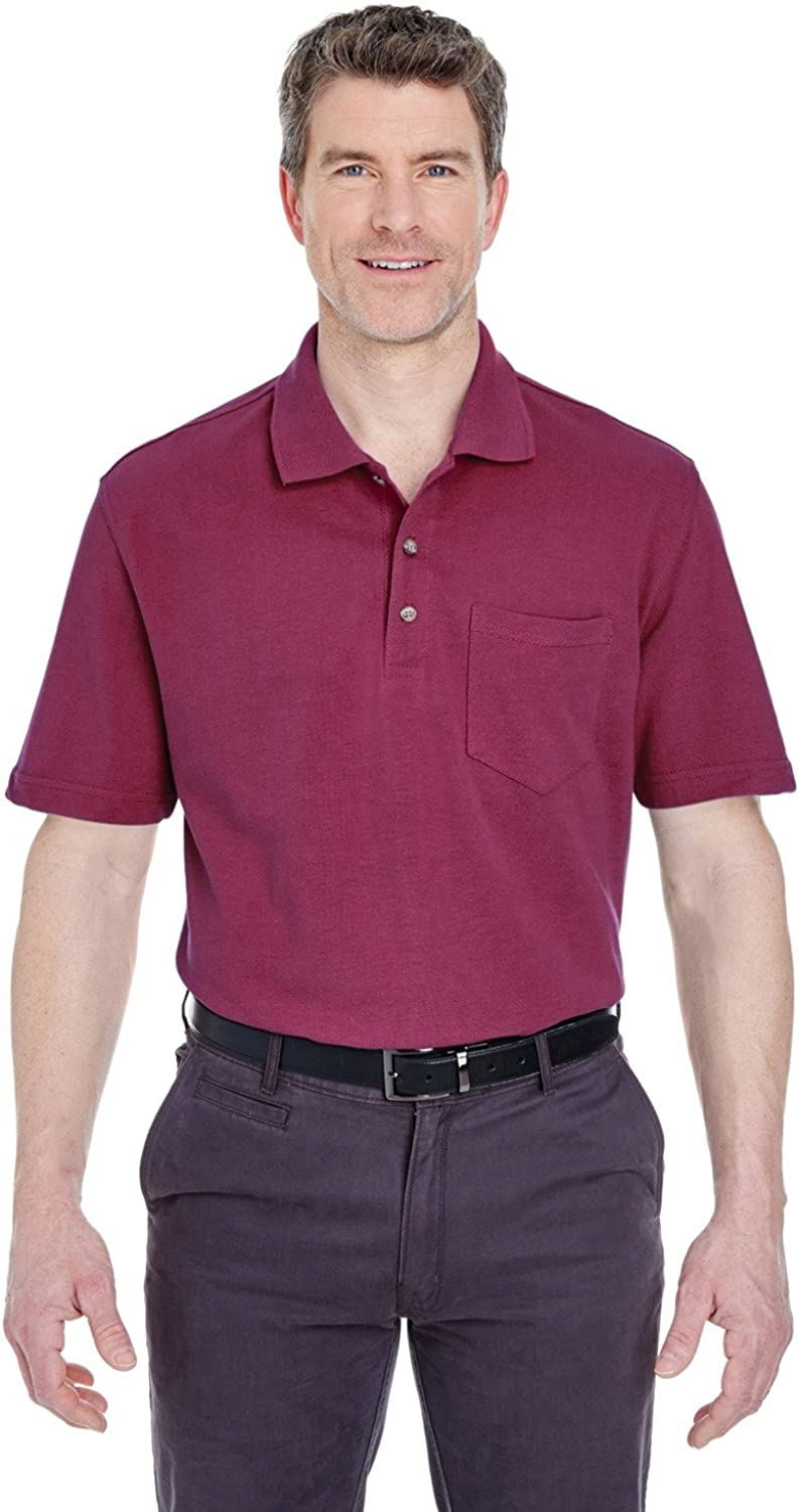 Classic Pique Polo with Pocket (8534)
