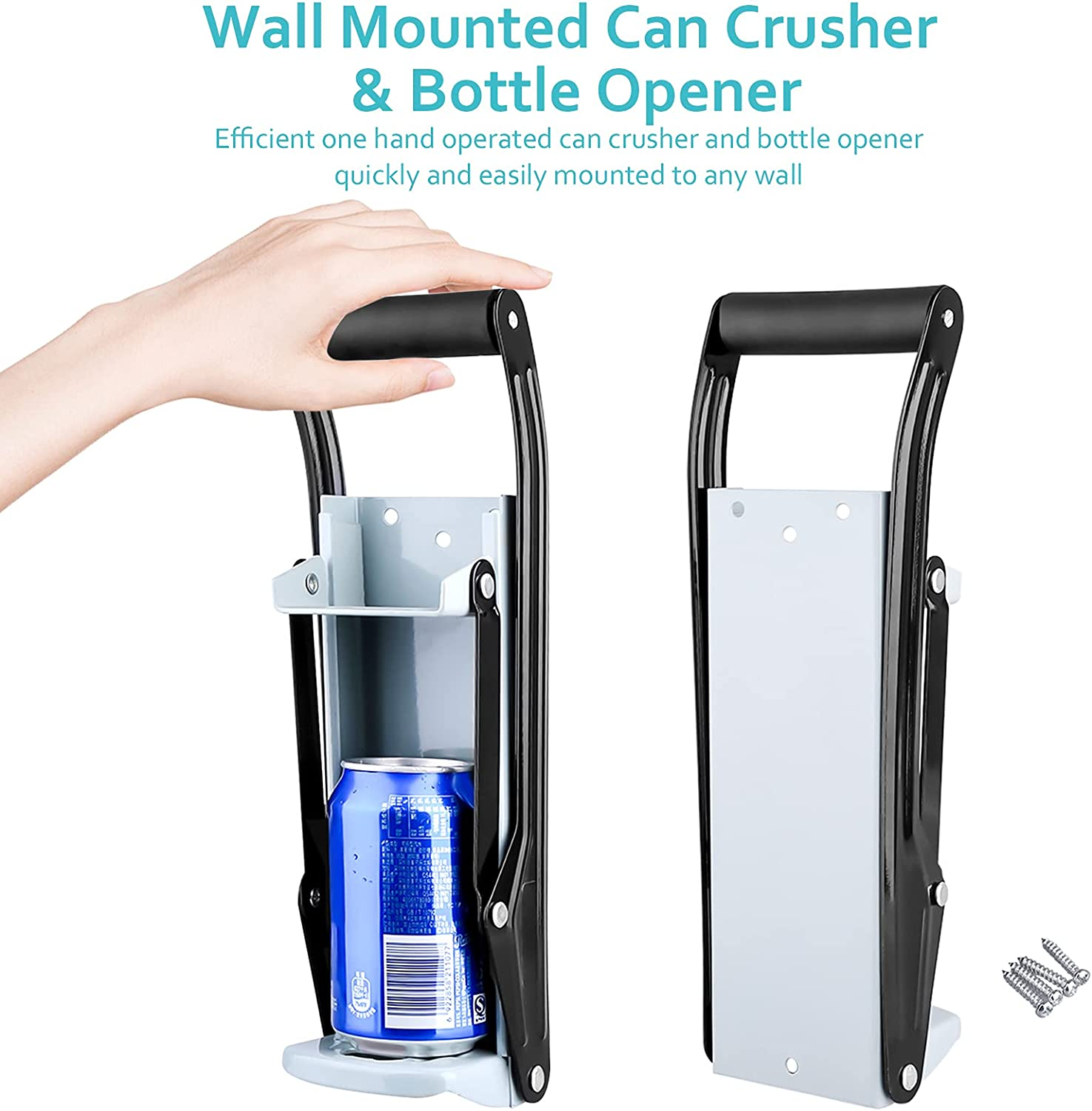 Specialty Tools & Gadgets LIXSLT Drink Can Crusher,16oz Wall ...
