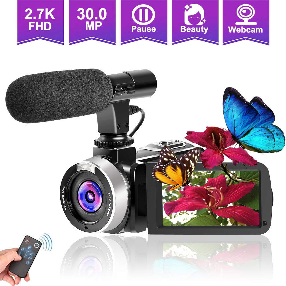 Camcorders Vlogging YouTube Camcorder Microphone