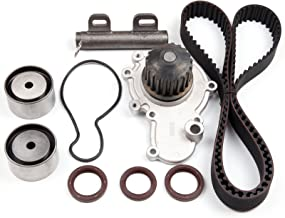 SCITOO fit 95-99 Dodge Plymouth DOHC Timing Belt Kit Water Pump W/Tensioner Kit