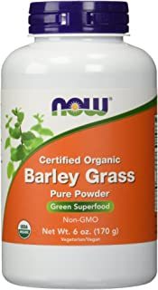 Now Foods Barley Grass Powder Org 6 Ounce, 6.0 Ounce