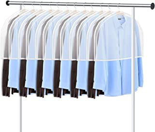 KEEGH Garment Shoulder Covers Bag(Set of 12) Breathable Closet Suit Organizer Prevent Clothes Shoulder from Dust, 2
