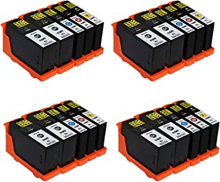 ESTON 20 Pack 100XL High Yield Ink Cartridges for Lexmark Prevail Pro705 Prospect Pro205 Printer