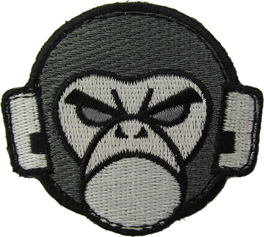 Angry Monkey Morale Patch (BLACK)
