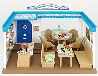 Calico Critters Family Seaside Restaurant - Calico Critters House/Store Perfect for all Animal Visitors - Over 70 Pieces I...