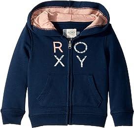 ROXY Girls Big Moment Zip Up Fleece