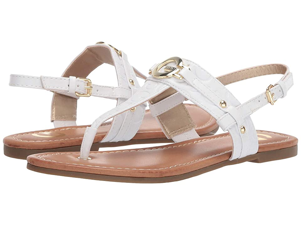G by GUESS Lester (White/White) Women