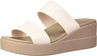 Crocs Women's Brooklyn Mid Wedge Sandal