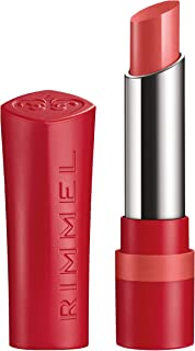 Rimmel London The Only One Lipstick Barra De Labios Tono 600 Keep it Coral - 19 gr