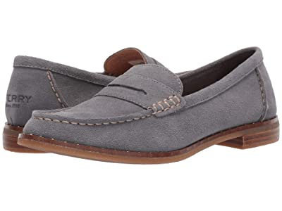 Sperry Seaport Penny Stud Suede (Grey) Women