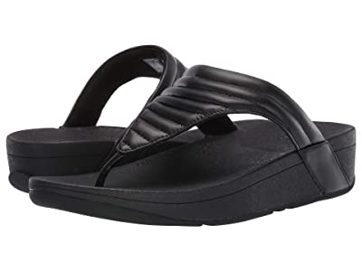 FitFlop Lottie Padded (Black/Black) Women