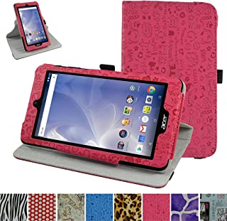 Acer B1-780 / B1-790 Rotating Case,Mama Mouth 360 Degree Rotary Stand with Cute Cover for 7