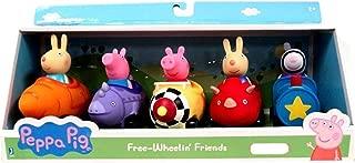 Peppa Pig Free Wheelin Friends 5 Character Car Figures