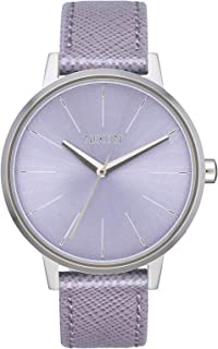 Nixon Kensington Leather Casual Designer Women's Watch (37mm. Leather Band)
