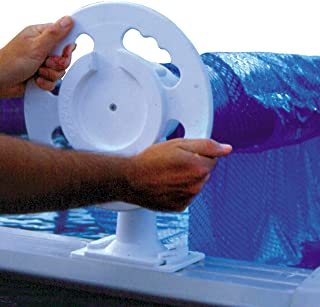 Doheny's Deluxe Above Ground Solar Pool Cover Reel System - up to 18-ft. pools