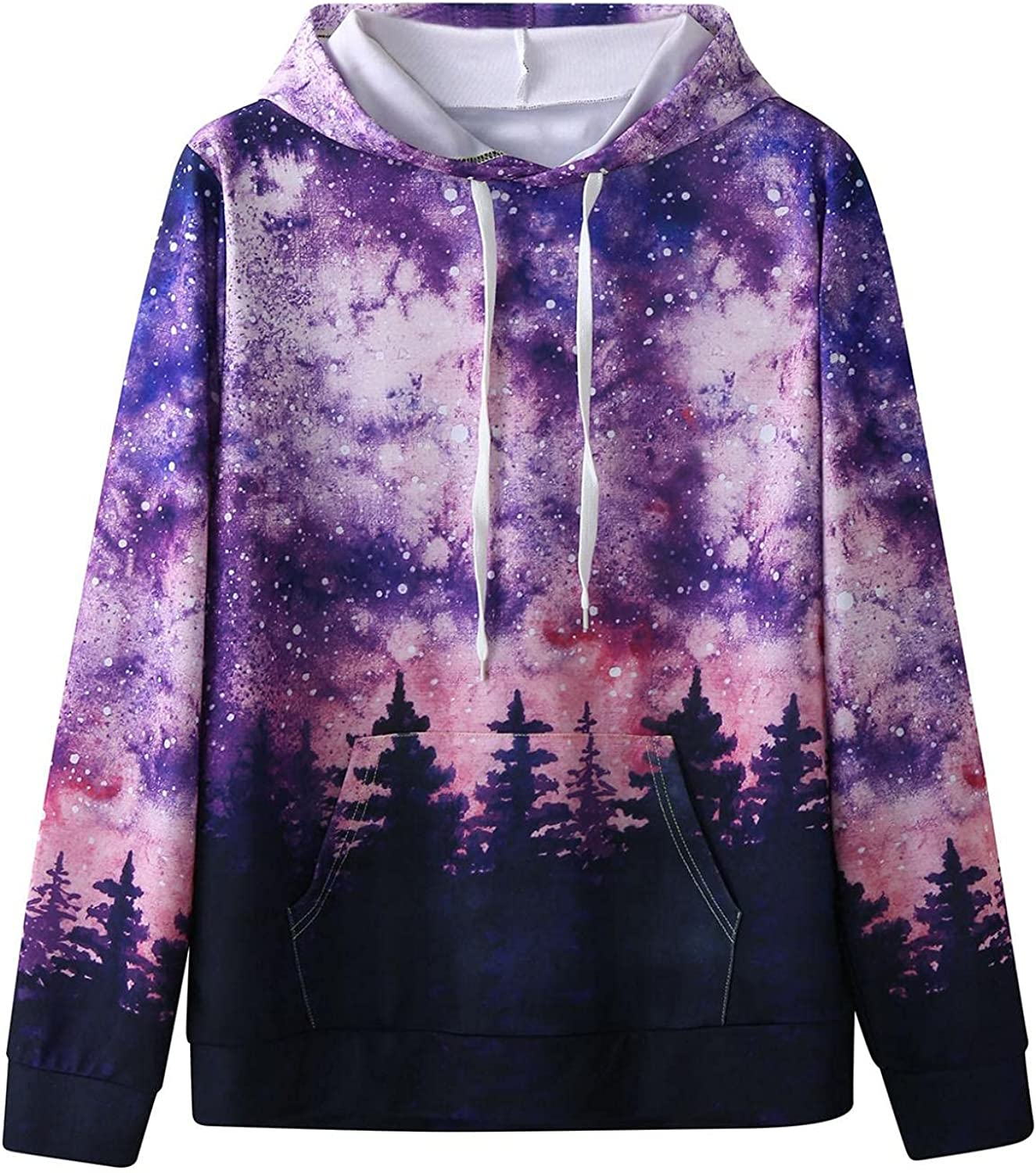 Qsctys Mens Long Sleeve Hooded Print T-Shirt Sweatshirts Slim Fit Pullover Hoodie Shirt Lightweight Comfortable Thin Blouse