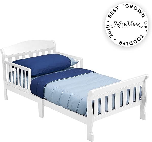 Delta Children Canton Toddler Bed White