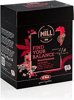 Mr & Mrs Mill Kaffeekapseln Find your Balance Entkoffeiniert, Stärke 4/7, K-fee System, 6er Pack 6 x 93 g