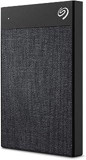 Seagate Ultra Touch HDD, externe Festplatte 1 TB, 2.5 Zoll, USB C & USB 3.0, schwarz, inkl. 1 Jahr Mylio Create, 4 Monate Adobe Creative Cloud Foto Abo, 2 Jahre Rescue Service, Modellnr.: STHH1000400