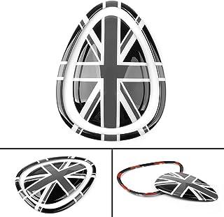 Gwxevce Union Jack Drapeau Britannique antenne Courte pour Mini Cooper S Countryman R55 R56 R60