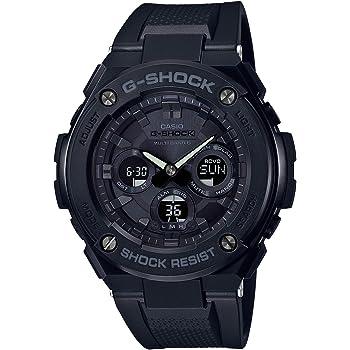 [カシオ] 腕時計 ジーショック G-STEEL 電波ソーラー GST-W300G-1A1JF メンズ ブラック