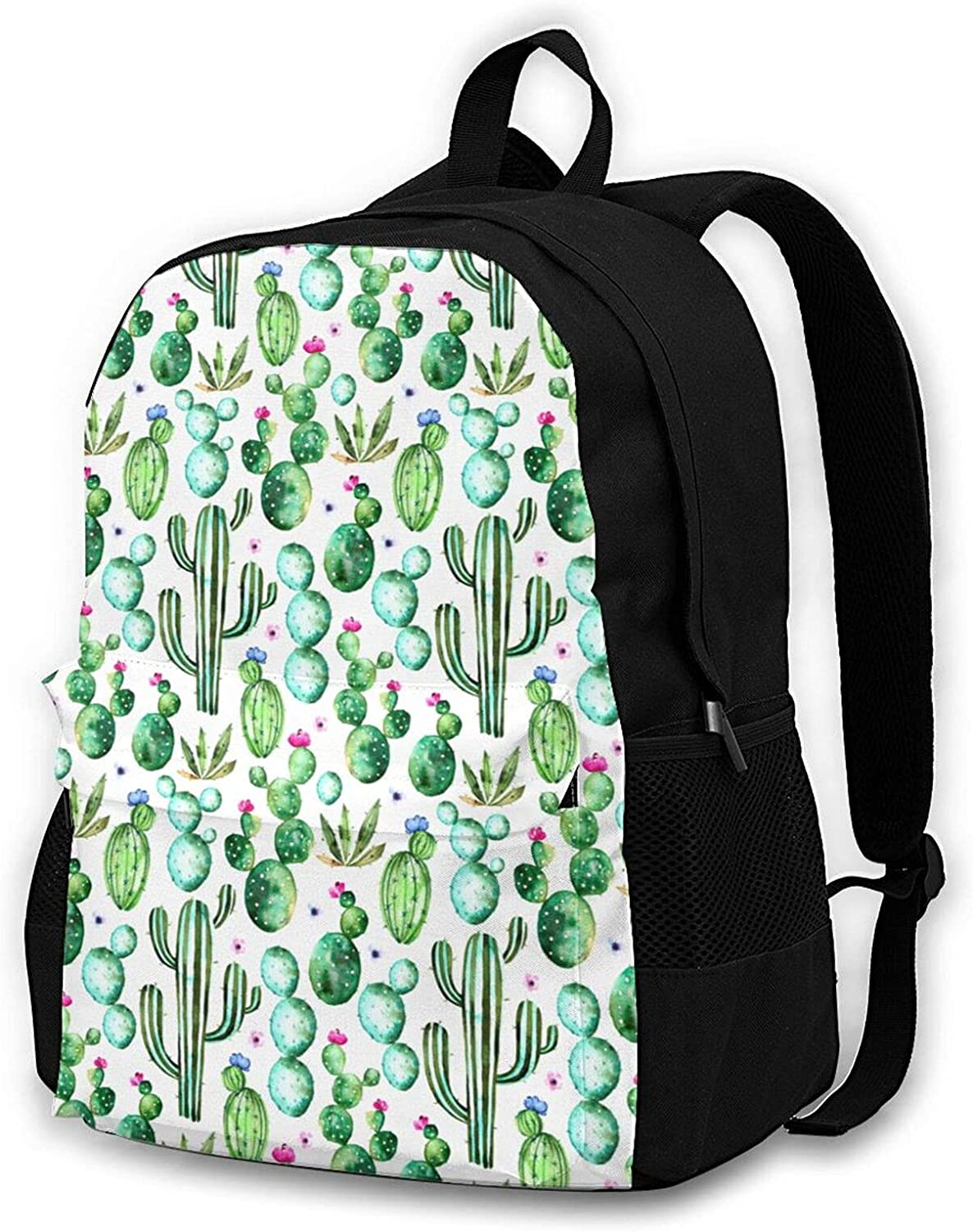 Cactus Travel Laptop Backpack for Men Women College School Computer Bookbag with Business Anti Theft Water Resistant
